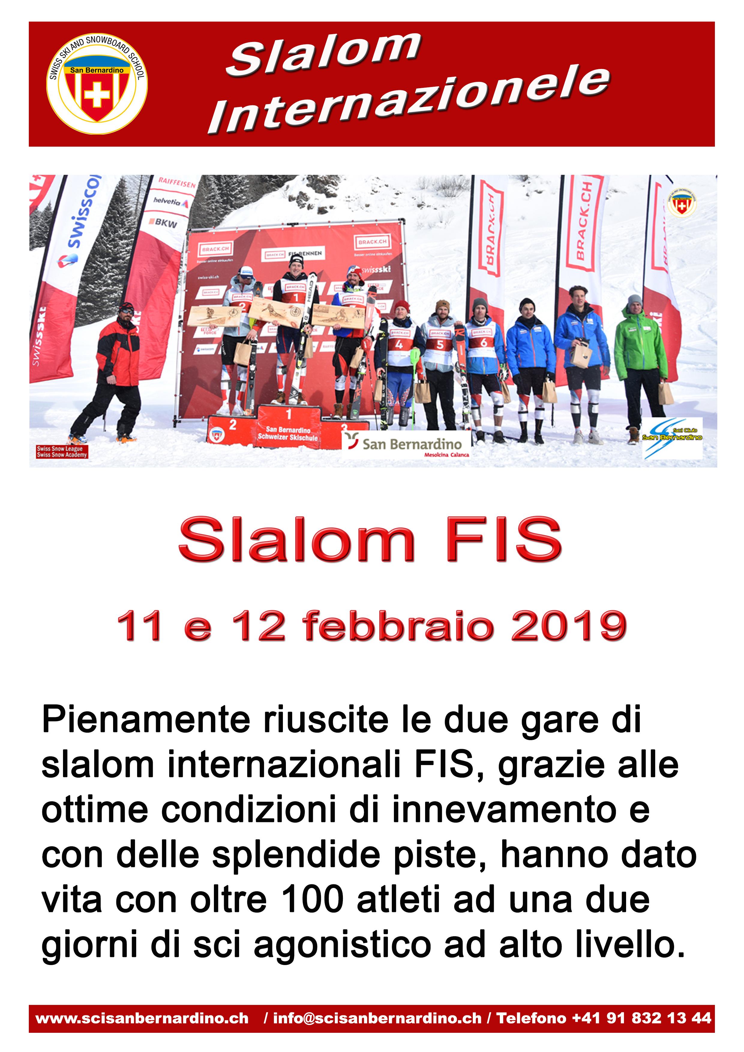 Slalom Internazionale FIS
