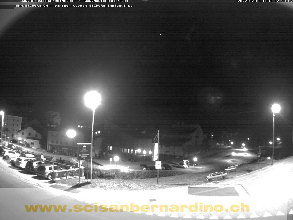 Webcam comprensorio del San Bernardino in Svizzera